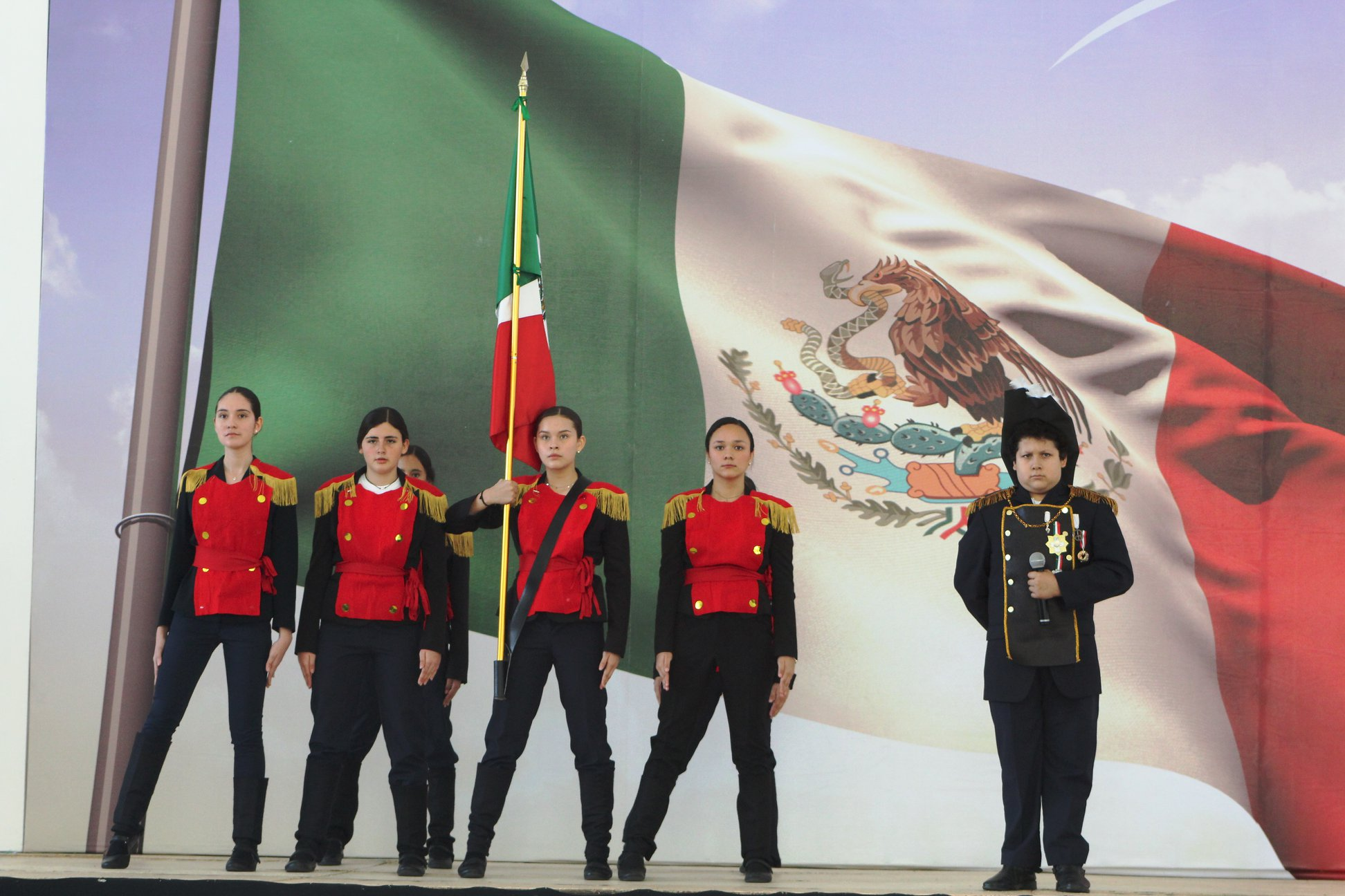 Celebración del Día de la Bandera