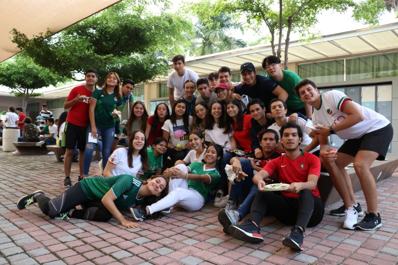 Recreo mexicano en Preparatoria